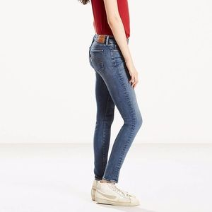 Levi's Medium Wash 711 Skinny Jeans